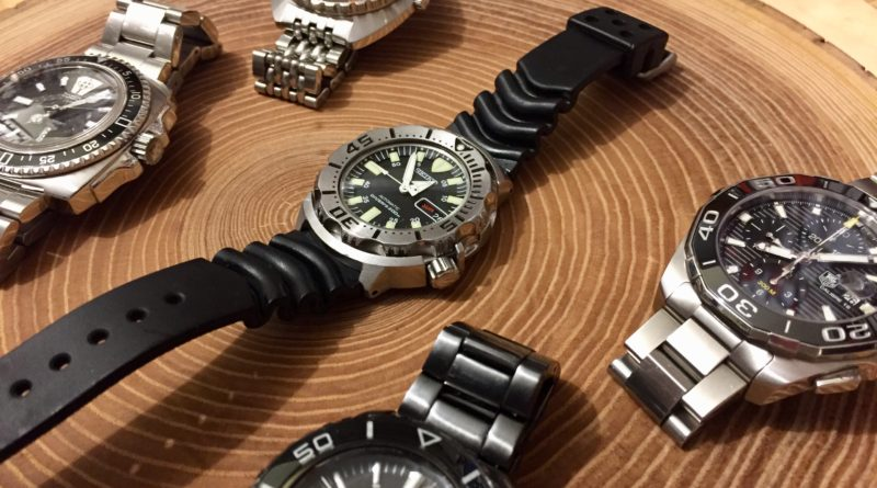 Dive watches from Seiko, Doxa, Tag Heuer and Zodiac
