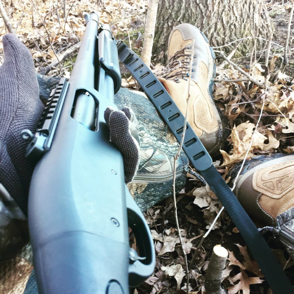 Remington 870 Tactical with XS Ghost Ring Sights