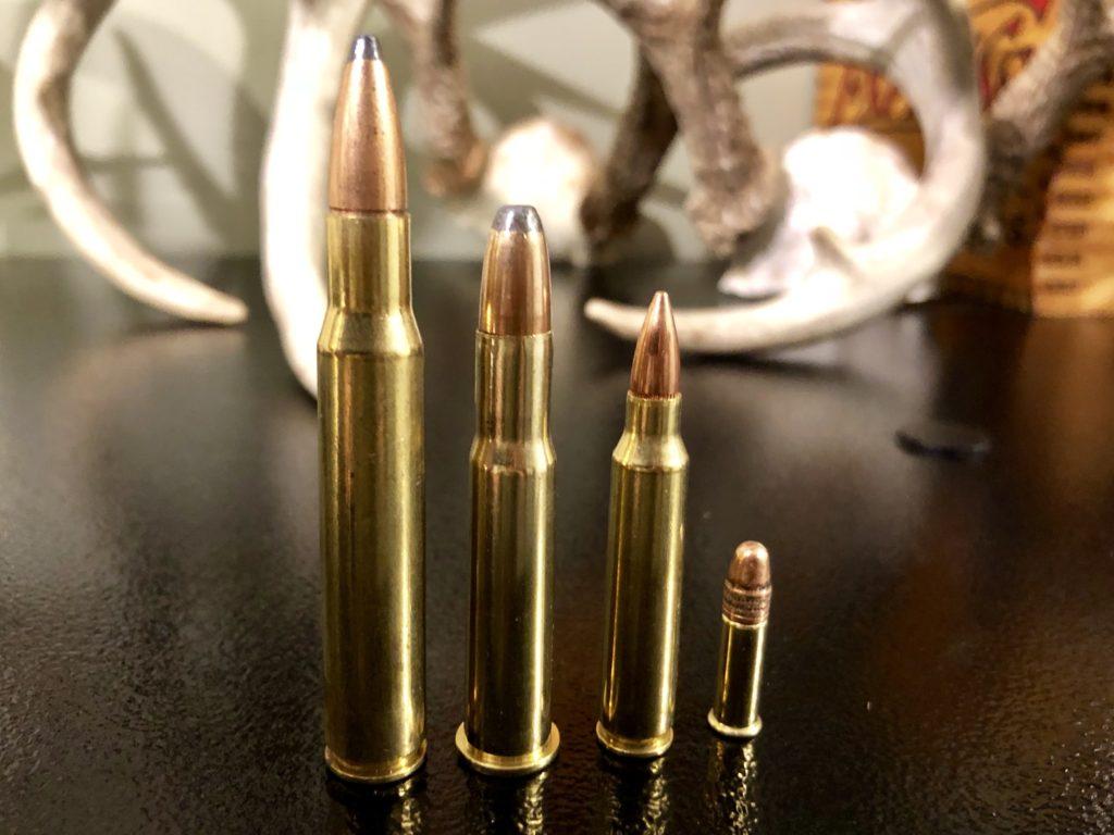 30-06, 30-30, .223, .22 Bullets