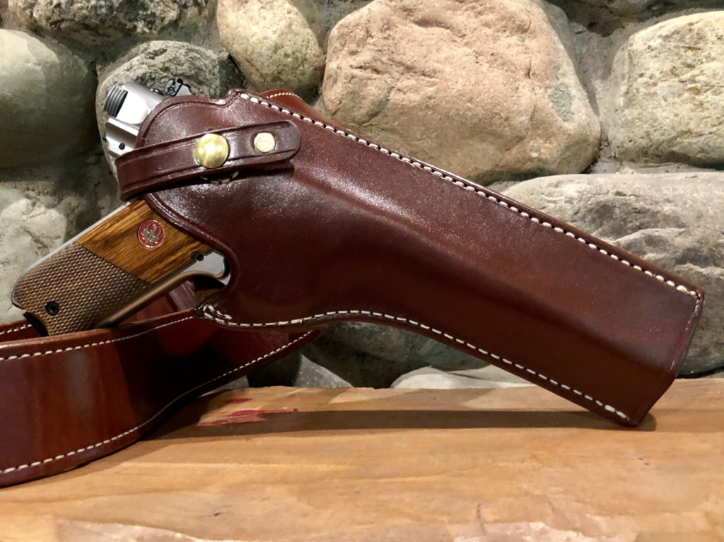 Ruger Mark IV Hunter in Triple K Holster