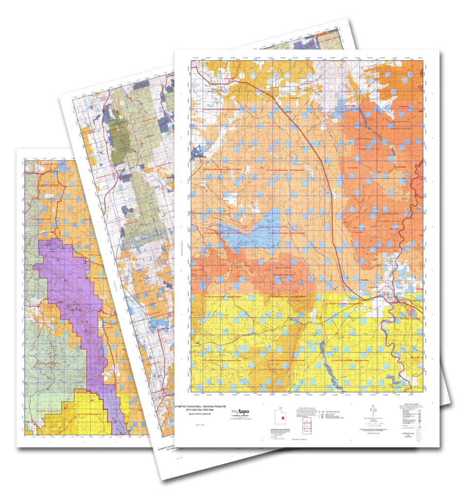 MyTopo GMU Public Land Hunting Map