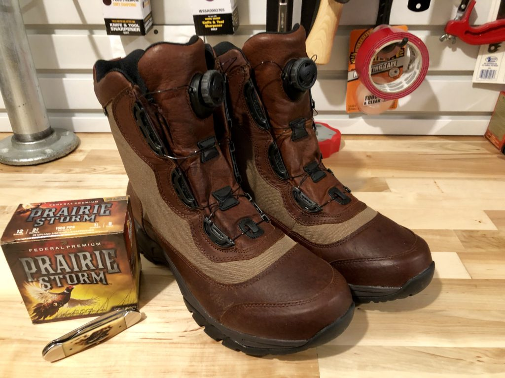 LL Bean Kangaroo Upland Boots with Boa Fit System.